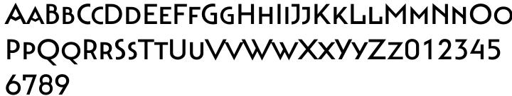 Bahnhof™ Font Sample