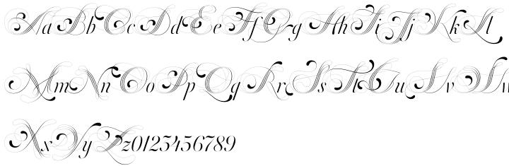 Orlando Samuels™ Font Sample