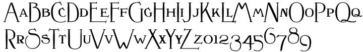 Crewekerne Magister Font Sample