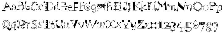 Scruff™ Font Sample