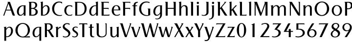 Libran™ Font Sample