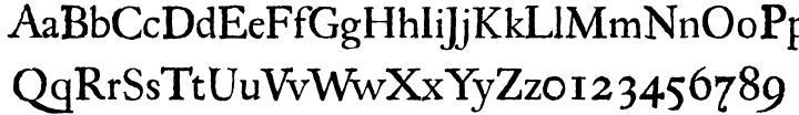 Regula™ Font Sample