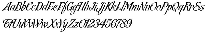 Tanguera Font Sample