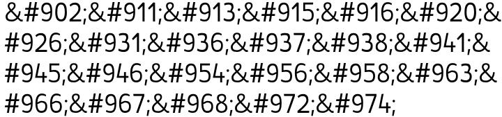 St Transmission™ Font Sample