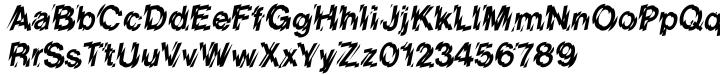 Shatter™ Font Sample