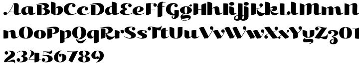 Kari Display™ Font Sample