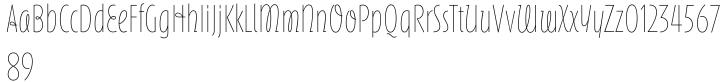 ITC Silvermoon™ Font Sample