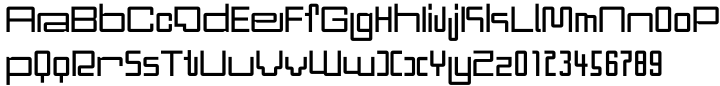 DBL Cheque™ Font Sample