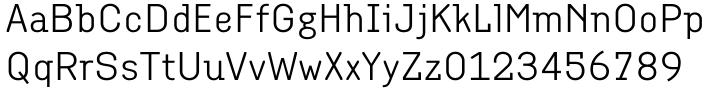 Empirical™ Font Sample