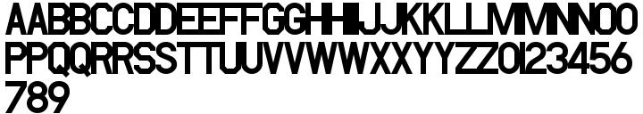PIXymbols FAR Marks Font Sample