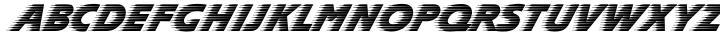 Slipstream™ Font Sample