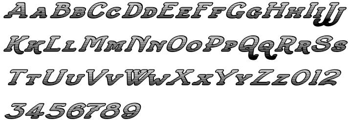 Slatterine™ Font Sample