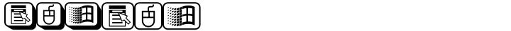 PIXymbols WINkeys Font Sample