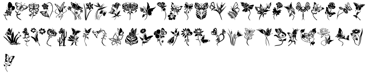 Fontazia Papilio Font Sample