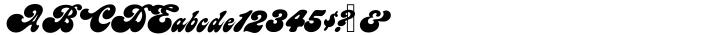 Charade™ Font Sample