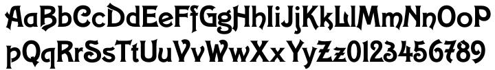 Carlingtown™ Font Sample