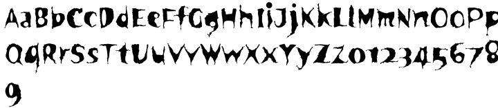 Spooky™ Font Sample