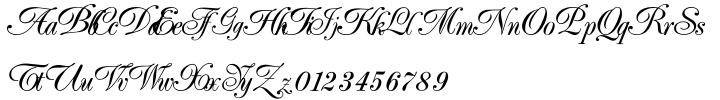 Elfort Font Sample