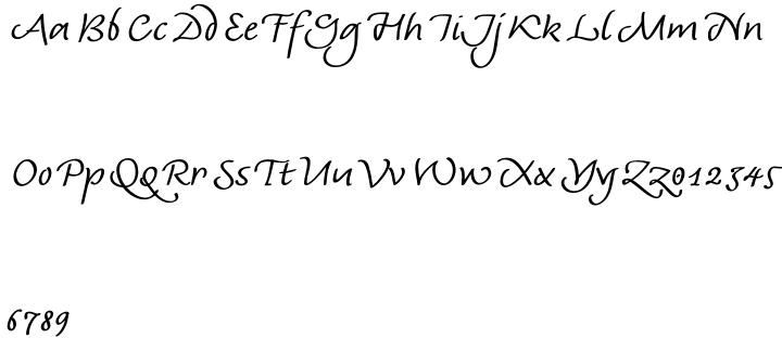 AndrijScript Cyrillic™ Font Sample