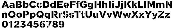 Clobber™ Font Sample