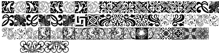 Hera Hedelix Font Sample