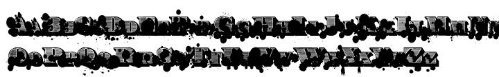 Victorian Monkey Font Sample