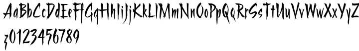 ITC Stranger™ Font Sample