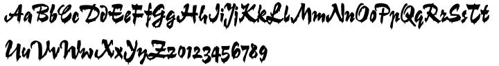 Gloss Font Sample