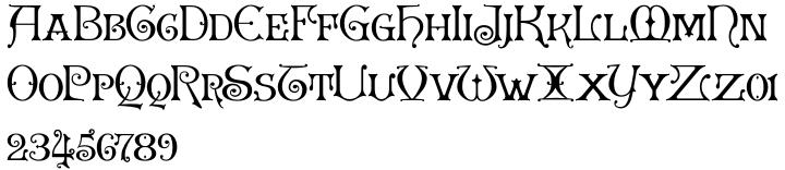 Granville Font Sample