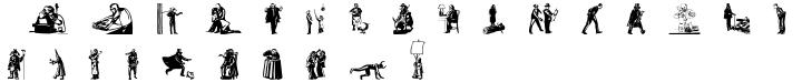 Bizarries™ Font Sample
