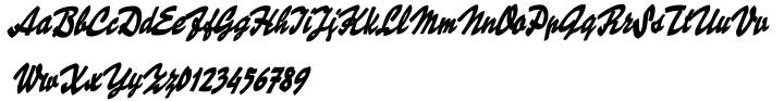 Skygirls Font Sample