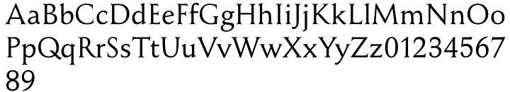 New Renaissance Font Sample