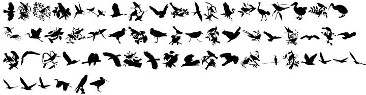 LoveBirds™ Font Sample