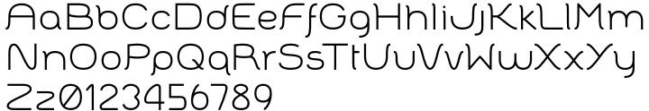 Badona™ Font Sample
