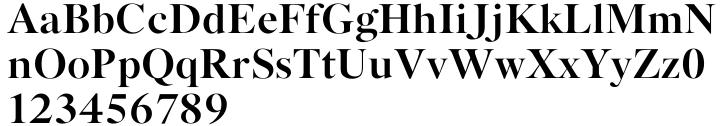 Kaczun Oldstyle Bold Font Sample