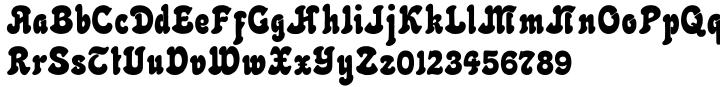 Netuno Font Sample
