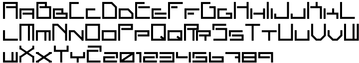 ALT Apollo13™ Font Sample