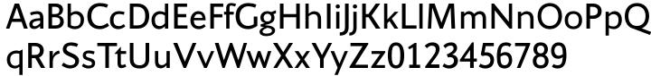 Conqueror Sans™ Font Sample