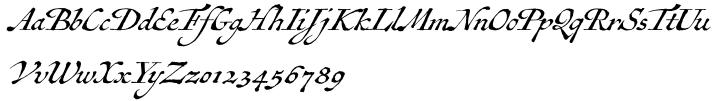 Antiquarian Scribe™ Font Sample