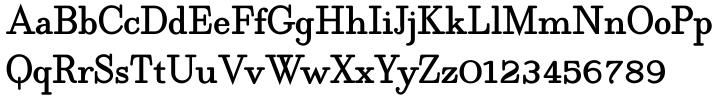 Egyptia Round Font Sample