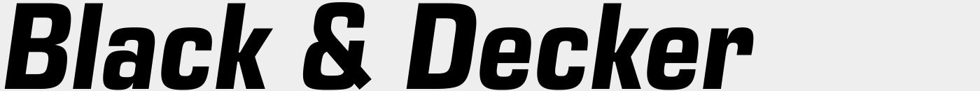 Eurostile Next Narrow Bold Italic